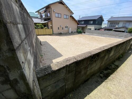 松江市西津田5丁目売土地【値下げしました。】
